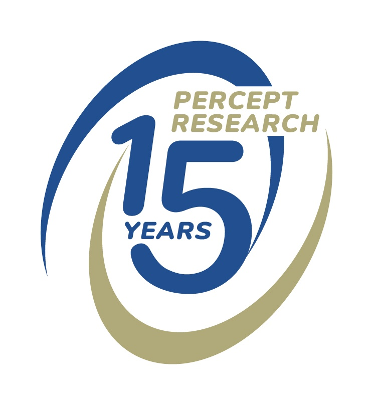 Percept Research_15th Anniversary Logo_RGB