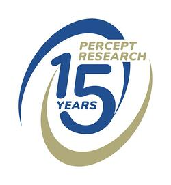 Percept Research_15th Anniversary Logo_RGB
