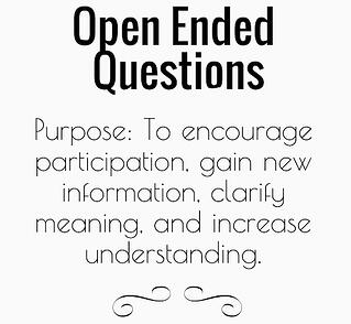 When to Choose Open or Close-Ended Questions
